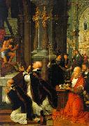 The Mass of St.Gregory Adriaen Isenbrandt