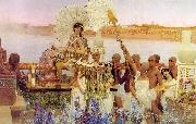 The Finding of Moses Alma Tadema