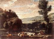 Landscape with Shepherds and Sheep  gftry BONZI, Pietro Paolo