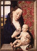 Mary and Child fgd BOUTS, Dieric the Elder