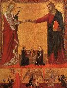 The Mystical Marriage of St.Catherine Barna da Siena