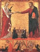 The Mystical Marriage of Saint Catherine sds Barna da Siena