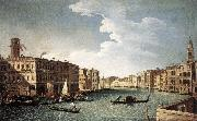 The Grand Canal with the Fabbriche Nuove at Rialto CANAL, Bernardo