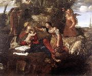 Rest on the Flight into Egypt dfg CAROSELLI, Angelo