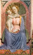 The Madonna and Child with Saints (detail) dh DOMENICO VENEZIANO