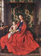 Madonna with the Child Reading dfg EYCK, Jan van