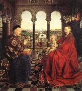 The Virgin of Chancellor Rolin dfg EYCK, Jan van