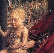 The Virgin of Chancellor Rolin (detail) ds EYCK, Jan van