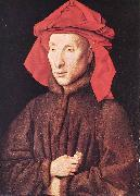 Portrait of Giovanni Arnolfini  s EYCK, Jan van