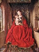 Suckling Madonna Enthroned ss EYCK, Jan van