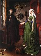 Portrait of Giovanni Arnolfini and his Wife df EYCK, Jan van