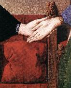 Portrait of Giovanni Arnolfini and his Wife (detail) sdfs EYCK, Jan van