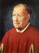 Portrait of Cardinal Niccolo Albergati dfg EYCK, Jan van
