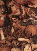 The Fall of the Rebellious Angels (detail) dg FLORIS, Frans