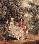 Conversation in a Park sd GAINSBOROUGH, Thomas