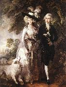 Mr and Mrs William Hallett (The Morning Walk) GAINSBOROUGH, Thomas