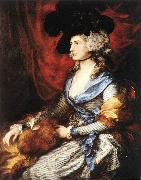 Mrs Sarah Siddons dfg GAINSBOROUGH, Thomas