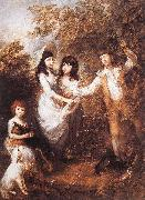The Marsham Children rdfg GAINSBOROUGH, Thomas