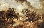 Landscape in Suffolk sdg GAINSBOROUGH, Thomas