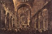 Doge Alvise IV Mocenigo Appears to the People in St Mark s Basilica in 1763 GUARDI, Francesco