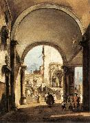 An Architectural Caprice GUARDI, Francesco