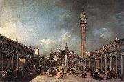 Piazza di San Marco dfh GUARDI, Francesco
