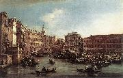 The Rialto Bridge with the Palazzo dei Camerlenghi dg GUARDI, Francesco