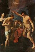 Baptism of Christ Guido Reni