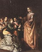 St Catherine Appearing to the Prisoners sf HERRERA, Francisco de, the Elder