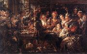 The Bean King f JORDAENS, Jacob
