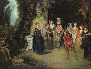 Love in the French Theatre Jean-Antoine Watteau