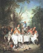 Fete in a Wood s LANCRET, Nicolas
