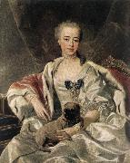 Portrait of Catherina Golitsyna s LOO, Louis Michel van