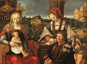 Madonna and Child with Mary Magdalene and a Donor Lucas van Leyden