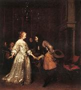 The Dancing Couple rt TERBORCH, Gerard
