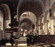 Interior of a Church WITTE, Emanuel de
