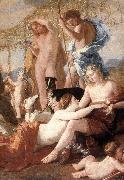 The Empire of Flora (detail) afd POUSSIN, Nicolas