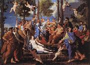 Apollo and the Muses (Parnassus) af POUSSIN, Nicolas