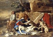 Lamentation over the Body of Christ af POUSSIN, Nicolas