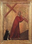 Christ Bearing the Cross Barna da Siena