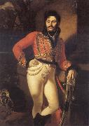 Portrait of Yevgraf Davydov,Colonel of The Life-Guards Kiprensky, Orest