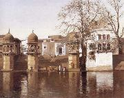 One of the Twenty-four Ghats at Mathura Lockwood de Forest