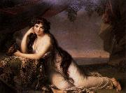 Lady Hamilton as a Bacchante BONE, Henry