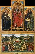 Altarpiece of Ghent EYCK, Jan van