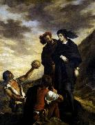 Hamlet and Horatio in the Graveyard Eugene Delacroix