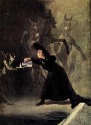 The Bewitched Man Francisco de goya y Lucientes
