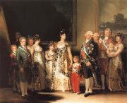 Family of Charles IV Francisco de goya y Lucientes