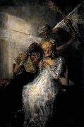 Les Vieilles or Time and the Old Women Francisco de goya y Lucientes