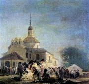 Pilgrimage to the Church of San Isidro Francisco de goya y Lucientes