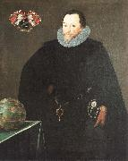 Sir Francis Drake GHEERAERTS, Marcus the Younger